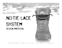 No Tie Lace System